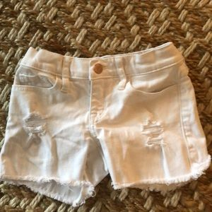 Abercrombie Girls denim shorts